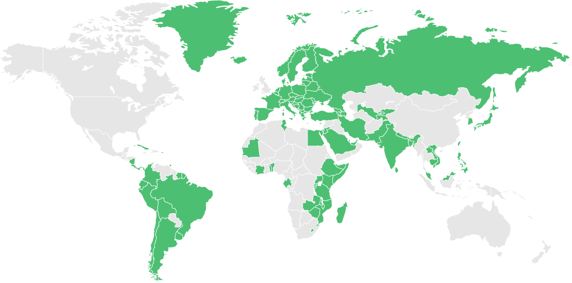 Visa-free travel to 122 countries worldwide
